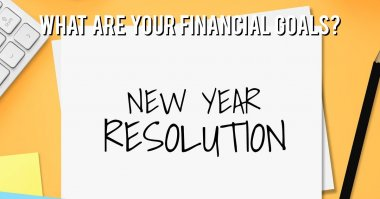 What is your financial New Year's resolution?
