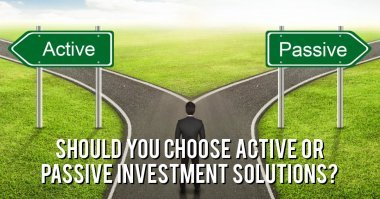 What are the differences between active and passive investing?