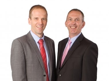 Howard Goodship and Stewart Sims Handcock - Lonsdale Wealth Management Chartered Financial Planners in Ringwood, Hampshire